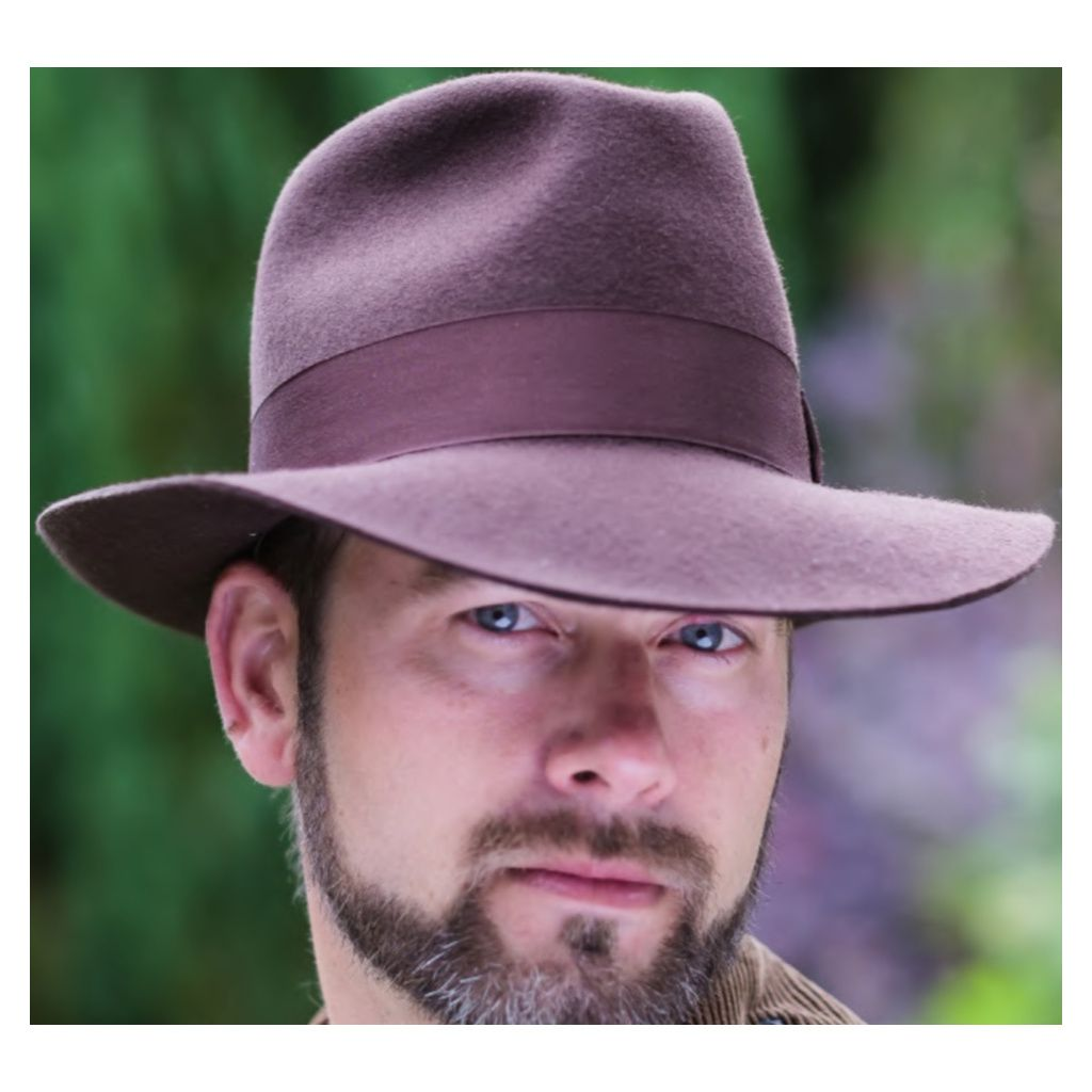 772dad6b5c34e Mens Superb Quality Lined Fedora Hat - Indiana Jones Style - Brown ...